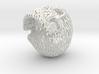 Skull Filagree - Flames 8cm 3d printed