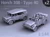 HORCH 108 40 - (2pack) 3d printed
