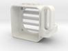 YZ4 - Speedo Fan Cooler & Wire Guide ( 25x25mm ) 3d printed