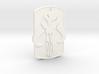 Mandalorian Keychain 3d printed