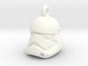 First Order Stormtrooper Helmet Pendant 3d printed