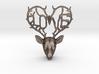 Love Deer Pendant 3d printed