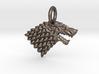 Stark Sigil Keychain 3d printed