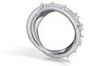 Rose Thorn Ring - Sz.11 3d printed