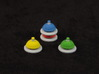 Call Bell tokens - Full colour (4 pcs) 3d printed