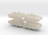 1/350 CV90 Armadillo APCs (4pcs) 3d printed