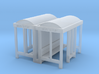 Bus Stop - N 160:1 Scale Qty (2) 3d printed