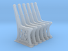 GWR Bench ends x 6 O Scale 7mm 3d printed