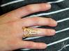 Paris Invader Ring 3d printed