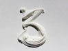 Art Nouveau House Number: 3 3d printed