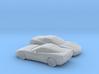 1/160 2X 1997-2004 Chevrolet Corvette C5 3d printed