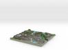 Terrafab generated model Mon Jun 06 2016 20:26:50  3d printed
