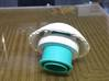 Trache Cap For Not White Valve 3d printed home printed cap on speaking valve
