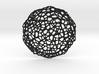 Coaster - Voronoi #7 (20 cm) 3d printed