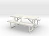 MOF Picnic Table Metal 6ft(1)[72-1] 3d printed