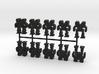Game Piece, Heavy Advanced Mech, 10-set 3d printed