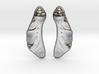 Maple Seed Earrings 3d printed