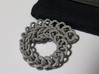 Chain Segment 1 3d printed Bends this much. Size option: extra small