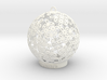 Flowers Ball Ornament 3d printed