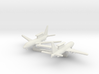 1/700 Boeing 737 AEW&C (E-7A) with Landing Gear 3d printed