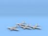 Republic P-47 'Thunderbolt' Bubbletop x4 FUD 3d printed