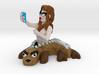 Selfie Selkie 3d printed