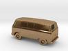 VW Bus in Metal - Zscale 3d printed