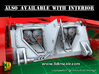 2S7 PION Rear Wall Update set (1:35) 3d printed 2S7 PION Rear Wall Updat set - also with interior