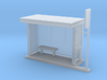 Bus Stop Frosted - HO 87:1 Scale 3d printed