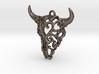 Filigree Bison Skull 3d printed