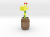 Giraffe In A Barrel 3d printed