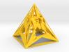 3D Printed Block Island Pyramid Tea Light 3d printed