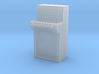 Stellpult E43 8 Hebel Spur 1/Control panel 3d printed