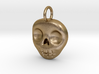Skull Necklace/Earring pendant 3d printed