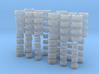 Reifen + Felgenpacket 4fach (ATS, C4, CD58) 1:87 3d printed