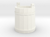 18th Century Pale or Bucket 1/24 3d printed