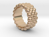 Bubbles Round Ring 24 – Italian Size 24 3d printed