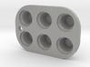 CUPCAKE TIN  3d printed
