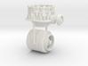 1/50th Vertical Cone Crusher Drum 3d printed