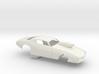 1/12 Pro Mod 73 Camaro Flat Hood W Scoop 3d printed