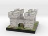Tiny White Castle 3d printed