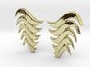 Fashion Fire Earring 1008 3d printed