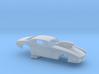 1/64 Pro Mod Camaro Cowl Hood W Scoop 3d printed