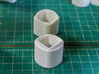 Ambiguous Cylinders : Nesting Cylinders 3d printed