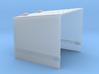 4 Inch Gun Square Shield 3d printed