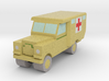 1/285 Land Rover S2 Ambulance x1 - Army, Sand 3d printed Land Rover S2 Ambulance in FCS. Army, sand