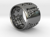 Menger Matrix Turbine Ring 21mm 3d printed