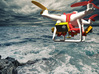 Search & Rescue 360° video harness for DJI Phantom 3d printed Shoreline tracking
