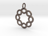 Celtic knot rope Pendant 3d printed