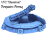 """YF2 """"Sentinel"""" Firepoint Array 3d printed Overview"""